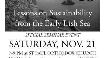 Christianity and Ecology: Lessons on Sustainability from the Early Irish Sea