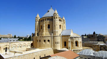 The Church of the Dormition, Jerusalem