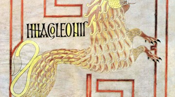 The Lion of St. Mark, from the Echternach Gospels (8th c.)