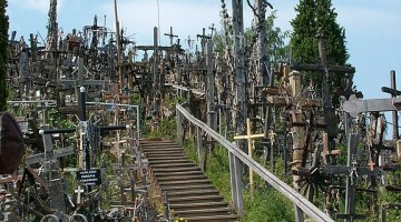 The Hill of Crosses, Šiauliai, Lithuania