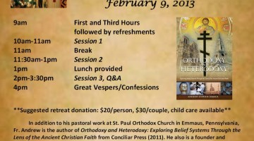 """Orthodoxy & Heterodoxy"" in Houston, Feb. 9, 2013"
