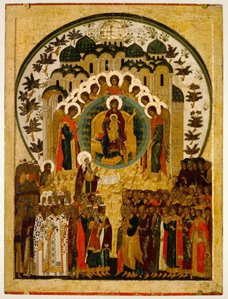 Synaxis of the Theotokos, Kirillo-Belozersky Monastery (from Wikimedia Commons