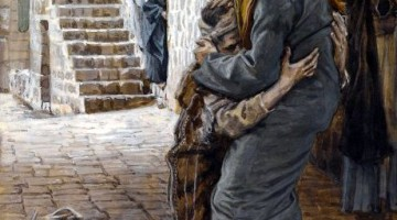 The Return of the Prodigal Son, by James Tissot (From Wikimedia Commons)