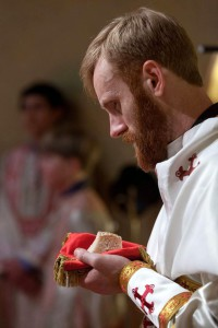 Fr. Matthew Baker at his ordination on January 19, 2014