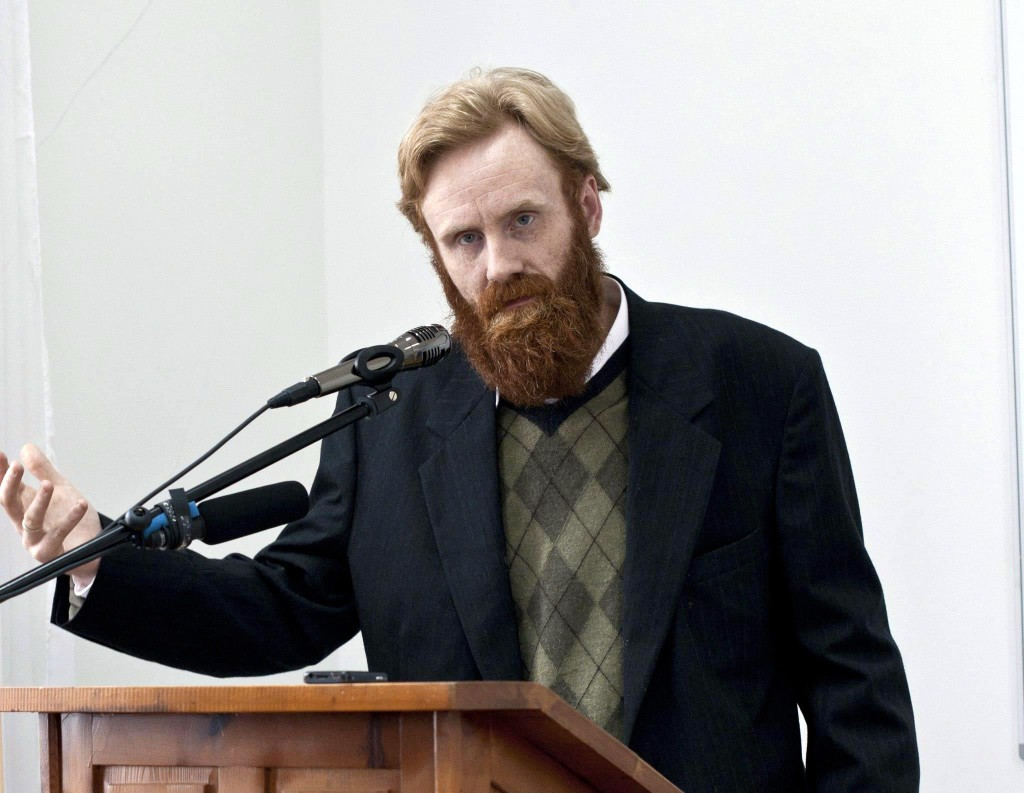 Speaking in Bulgaria in 2011 at the Orthodox Theology and Science Conference