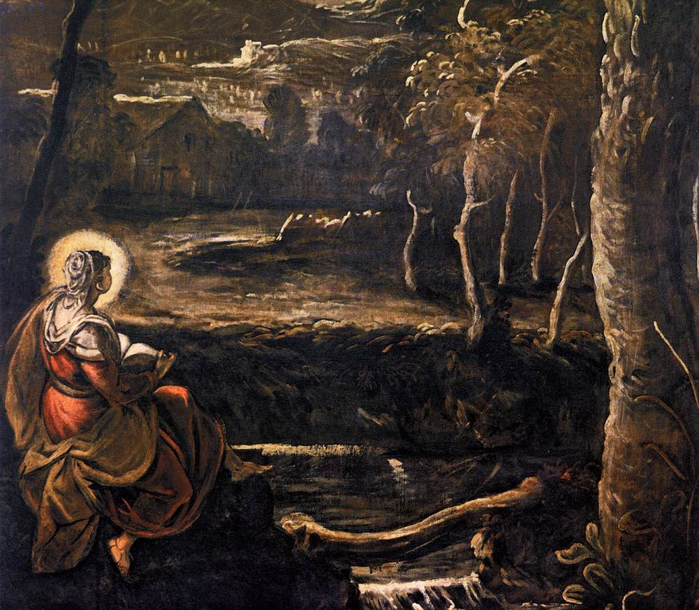 Mary of Egypt, by Jacopo Tintoretto (From Wikimedia Commons)