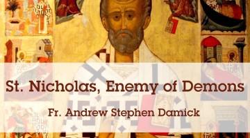 St. Nicholas, Enemy of Demons