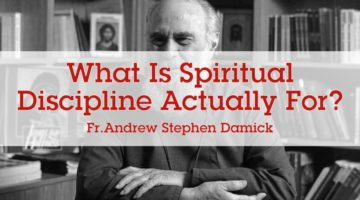 What is Spiritual Discipline Actually For?