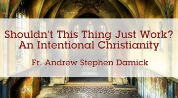 Shouldn't This Thing Just Work? An Intentional Christianity