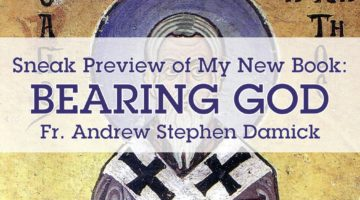 "Sneak Preview of My New Book: ""Bearing God"""