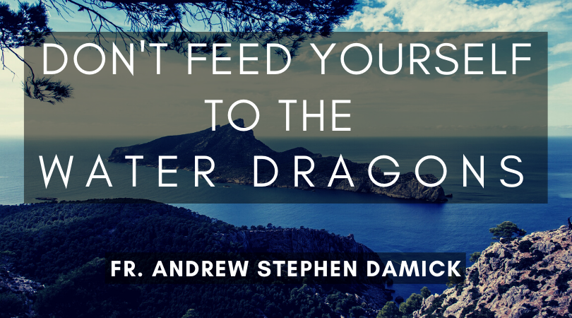 Mark 1 1 >> Don T Feed Yourself To The Water Dragons Fr Andrew