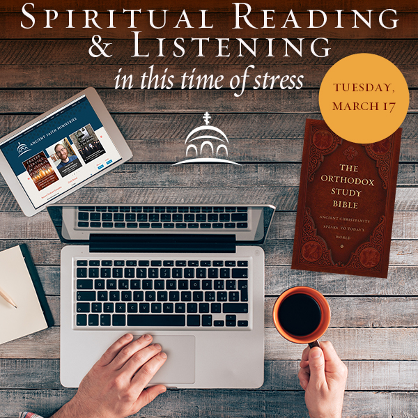 Spiritual Reading and Listening in times of stress