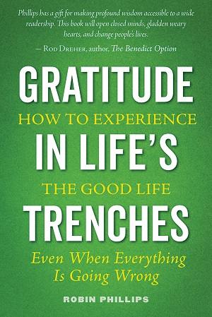 Gratitude in Life's Trenches book cover