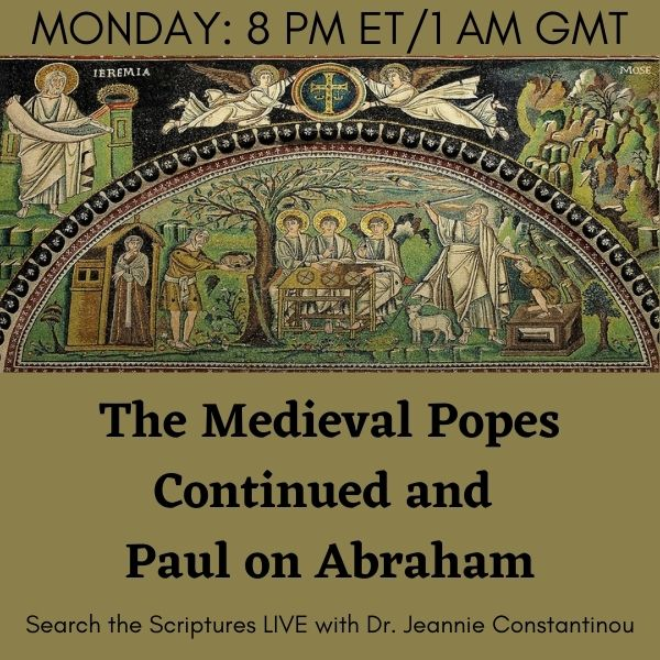 Medieval Popes and Saint Paul on Abraham