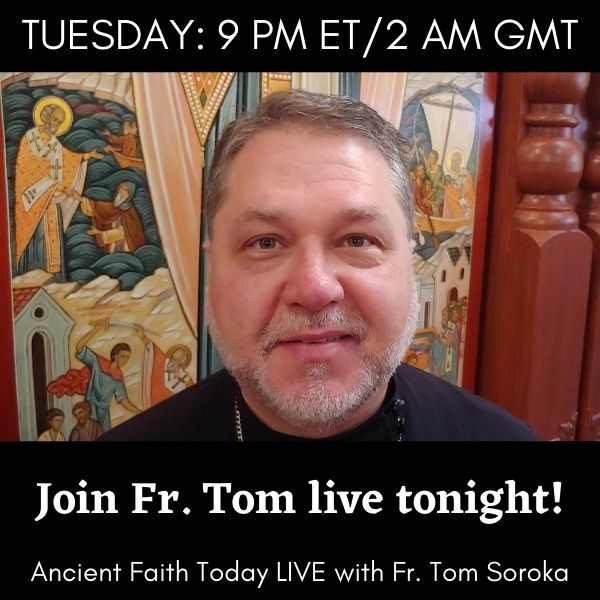 Join Fr. Tom Soroka live tonight