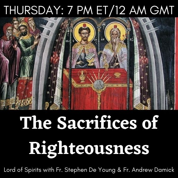 The Sacrifices of Righteousness