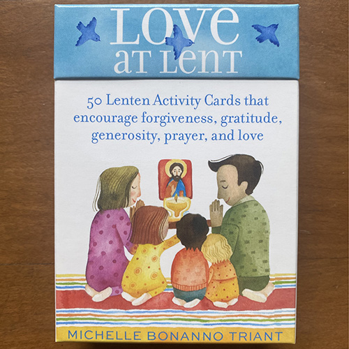 Photo of Love at Lent box of cards