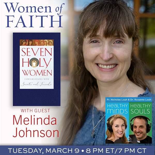 Seven Holy Women book with one co-author Melinda Johnson