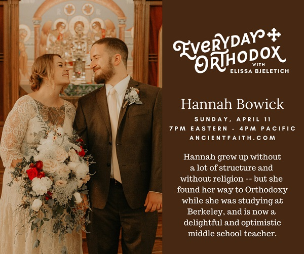 Wedding photo of Hannah Bowick and her husband