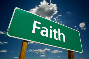 Faith Road Sign