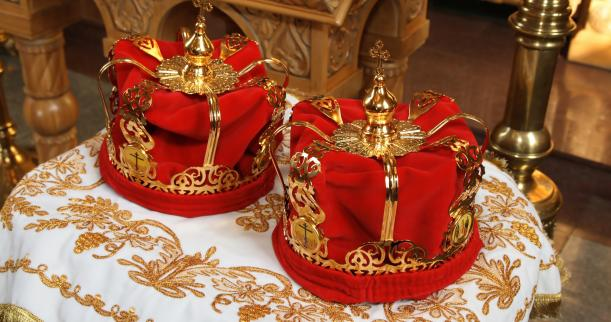 Image result for russian orthodox wedding crowns
