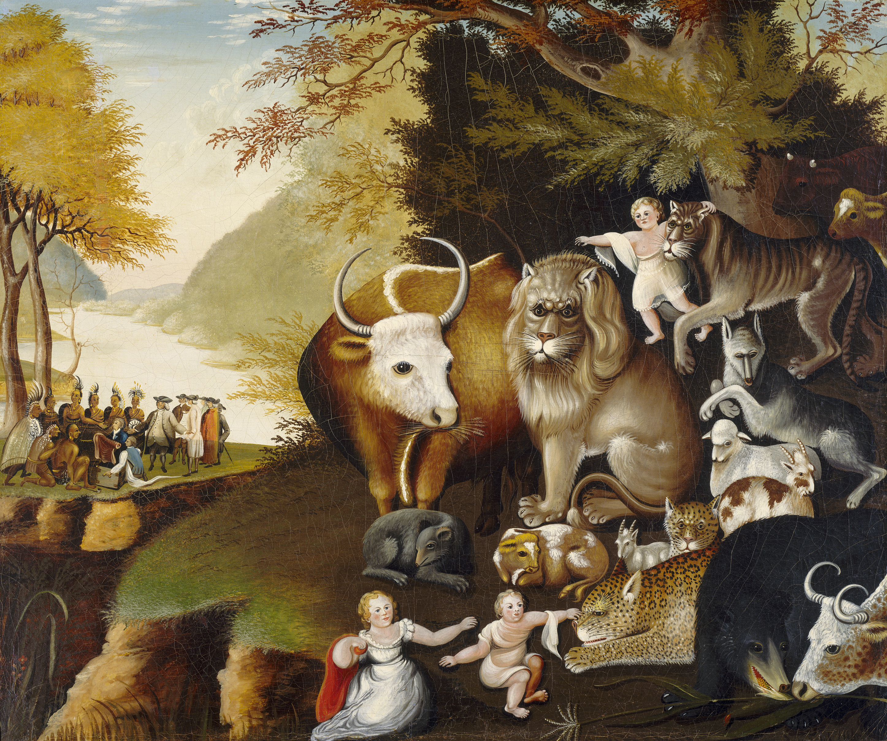 hicks peaceable kingdom essays Peaceable kingdom painter by edward hicks textual analysis essay, the topic is peaceable kingdom painter instructions: read your textual analysis rough draft and.