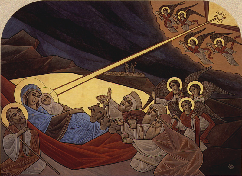 nativity-coptic-icon