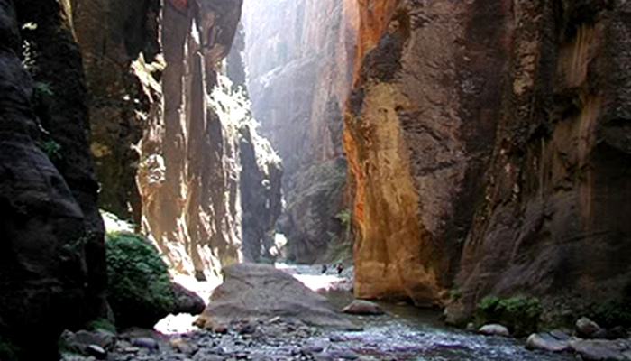 Abraham's Narrow Gate