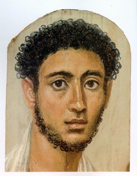 Faiyum Mummy Portrait