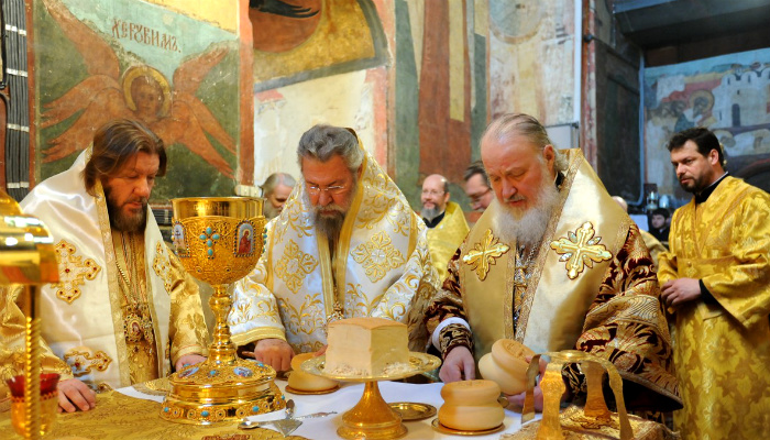 Transubstantiation in the Orthodox Church