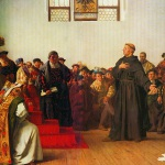 Martin Luther at the Diet of Worms, by Anton von Werner, 1877