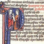 An illuminated manuscript of the Epistle to the Galatians  (From Wikimedia Commons)