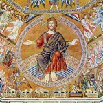 Christ Pantocrator and the Last Judgement, Mosaic in the Baptistery of San Giovanni in Florence   (From Wikimedia Commons)