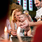 Infants are communed almost immediately after baptism in the Orthodox Church.  (From Wikimedia Commons)