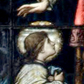 Presentation of Mary-stained glass-sq