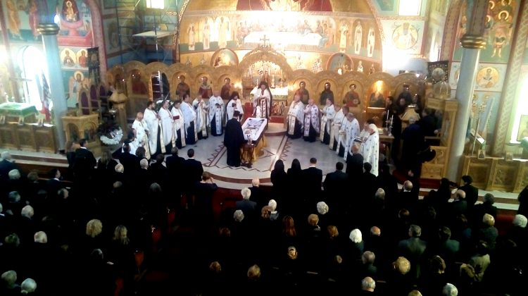 Greek Orthodox funeral in Toronto