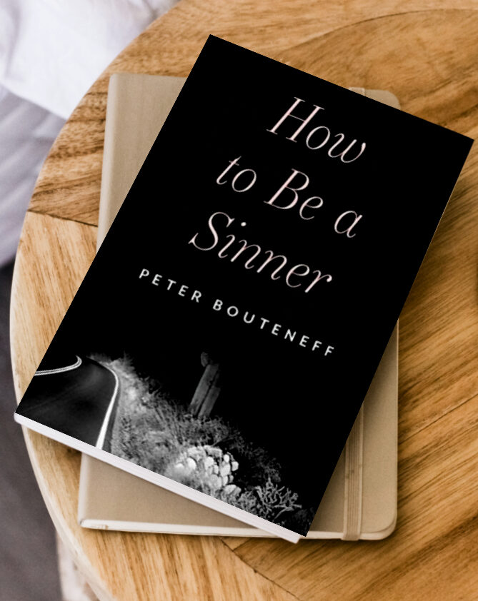 How to Be a Sinner Cover by Peter Bouteneff