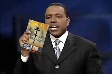 Creflo Dollar encourages you to prosper by buying your own copy of O&H.  Blessings will rain!