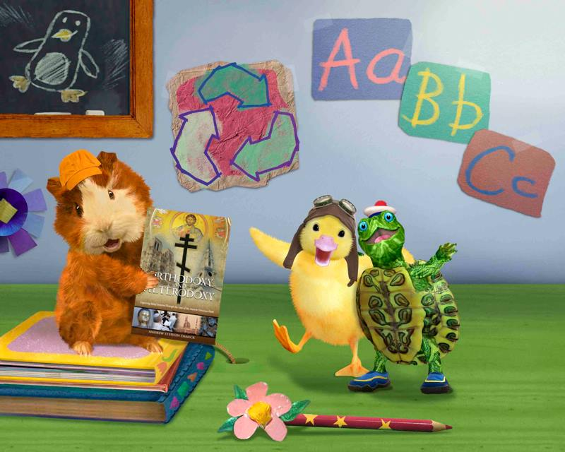 On today's episode, the Wonder Pets learn about how to ward off heresy!