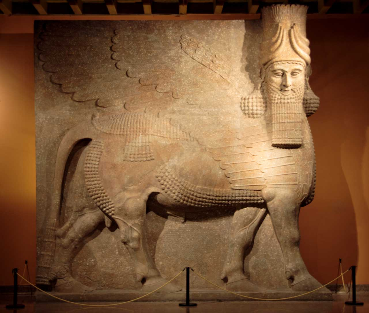 Lamassu from the court of Sargon II of Assyria